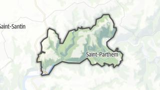 Hartă / Saint-Parthem
