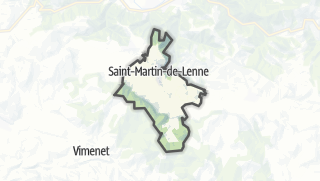 Hartă / Saint-Martin-de-Lenne