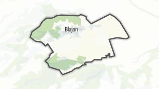 Térkép / Blajan