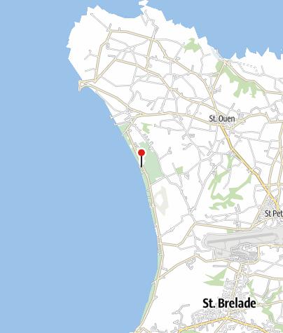 Karte / St. Ouen's Bay