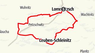 Karte der Tour Schleinitzer Rundweg