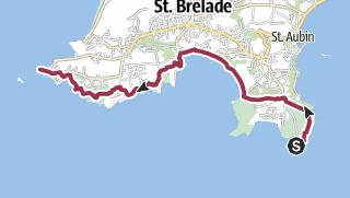 Karte / Noirmont – Corbière