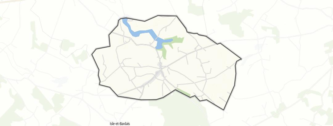 Hartă / Pelerinaje in Valigny