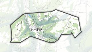 Térkép / Meslières