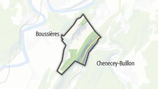 Mapa / Vorges-les-Pins