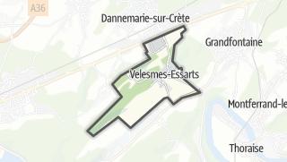 Térkép / Velesmes-Essarts