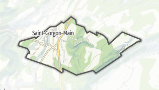 Mapa / Saint-Gorgon-Main