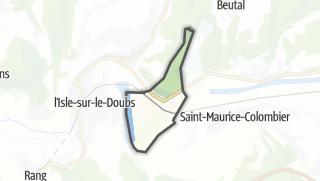 Mapa / La Prétière