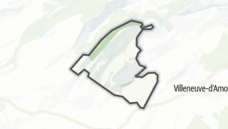 Mapa / Sainte-Anne