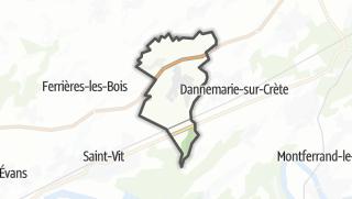 Térkép / Pouilley-Français