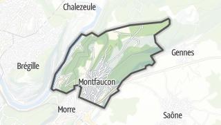 Mapa / Montfaucon
