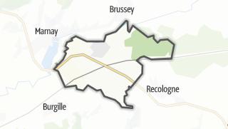 Mapa / Ruffey-le-Château