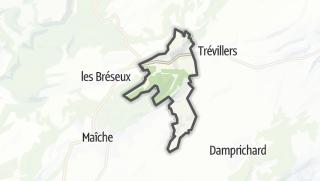 Mapa / Thiébouhans