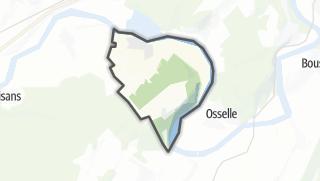 Mapa / Roset-Fluans