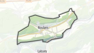 Térkép / Roulans