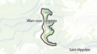 Térkép / Noirefontaine