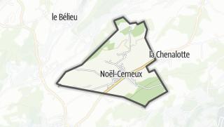 Mapa / Noël-Cerneux