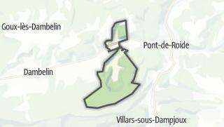 Mapa / Neuchâtel-Urtière