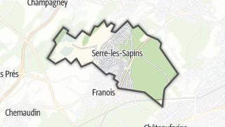 Térkép / Serre-les-Sapins