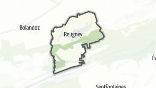 Mapa / Reugney