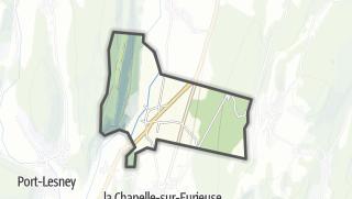 Mapa / Rennes-sur-Loue