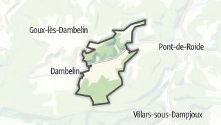Térkép / Rémondans-Vaivre