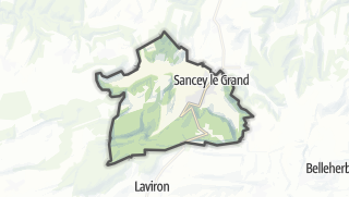 Térkép / Sancey-le-Grand