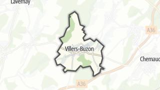 Térkép / Villers-Buzon