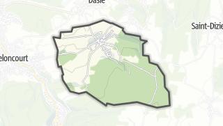 Mapa / Vandoncourt