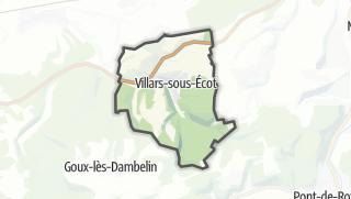 Térkép / Villars-sous-Ecot