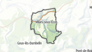 Mapa / Villars-sous-Ecot