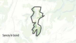 Térkép / Vernois-lès-Belvoir