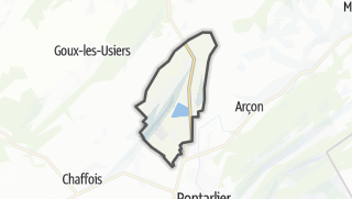 Mapa / Vuillecin