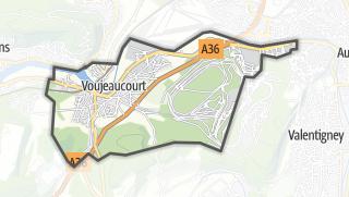 Térkép / Voujeaucourt