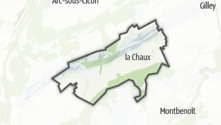 Térkép / La Chaux