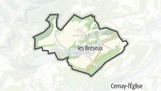 Térkép / Les Bréseux