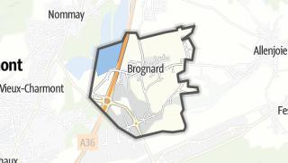 Térkép / Brognard