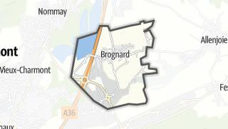 Mapa / Brognard