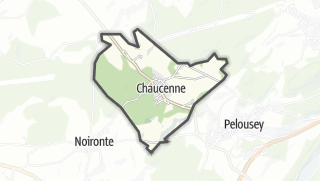 Mapa / Chaucenne