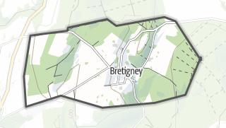 Térkép / Bretigney
