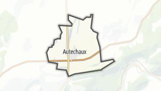 Térkép / Autechaux