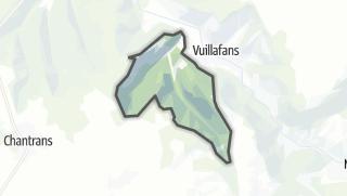 Térkép / Châteauvieux-les-Fossés