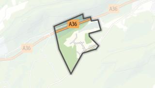 Mapa / Braillans