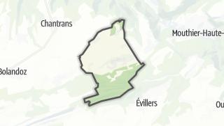 Térkép / Amathay-Vésigneux