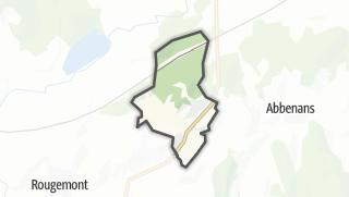 Mapa / Cubrial