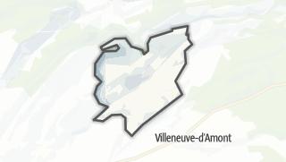 Mapa / Crouzet-Migette