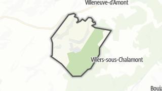 Mapa / Arc-sous-Montenot