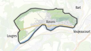 Térkép / Bavans