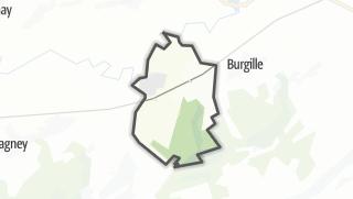 Térkép / Courchapon