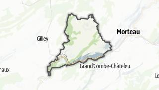 Térkép / Les Combes